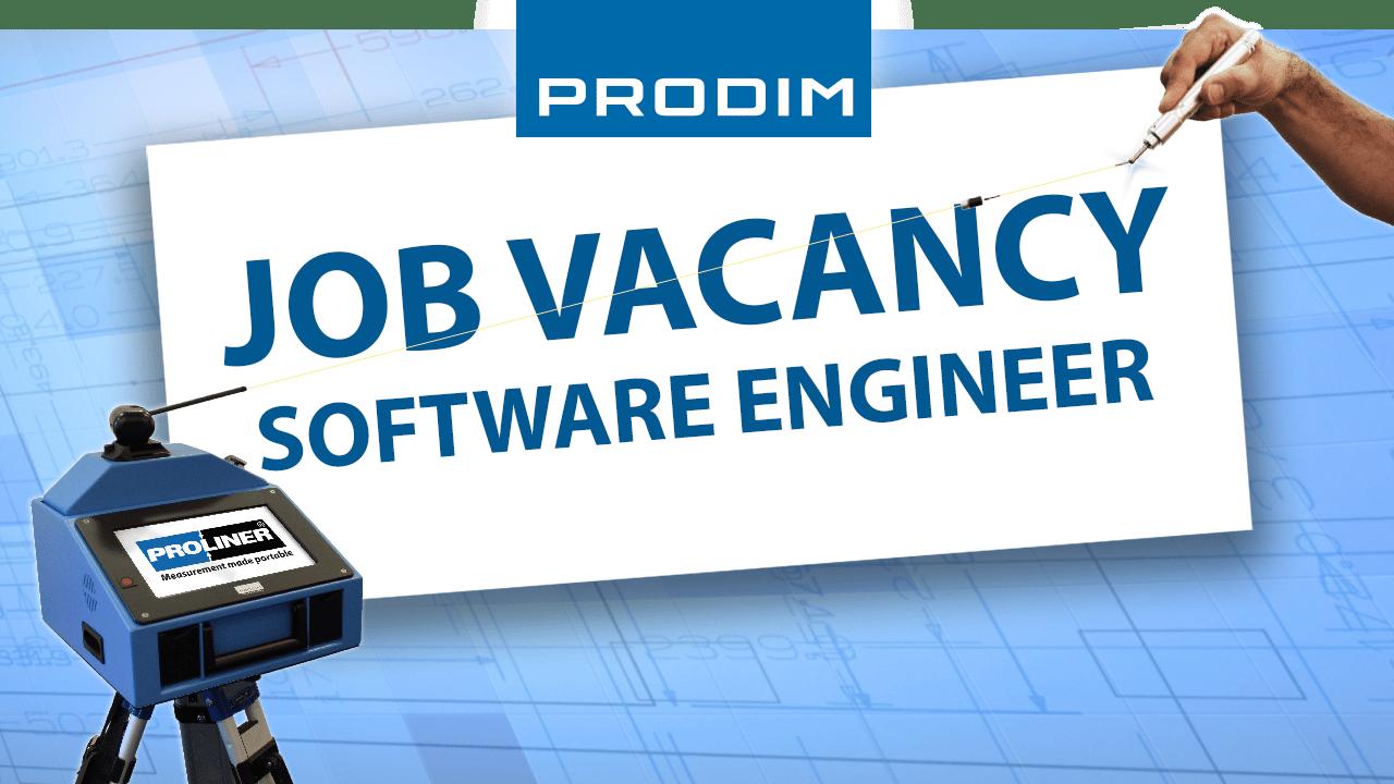 Oferta de emprego Prodim - Software Engineer
