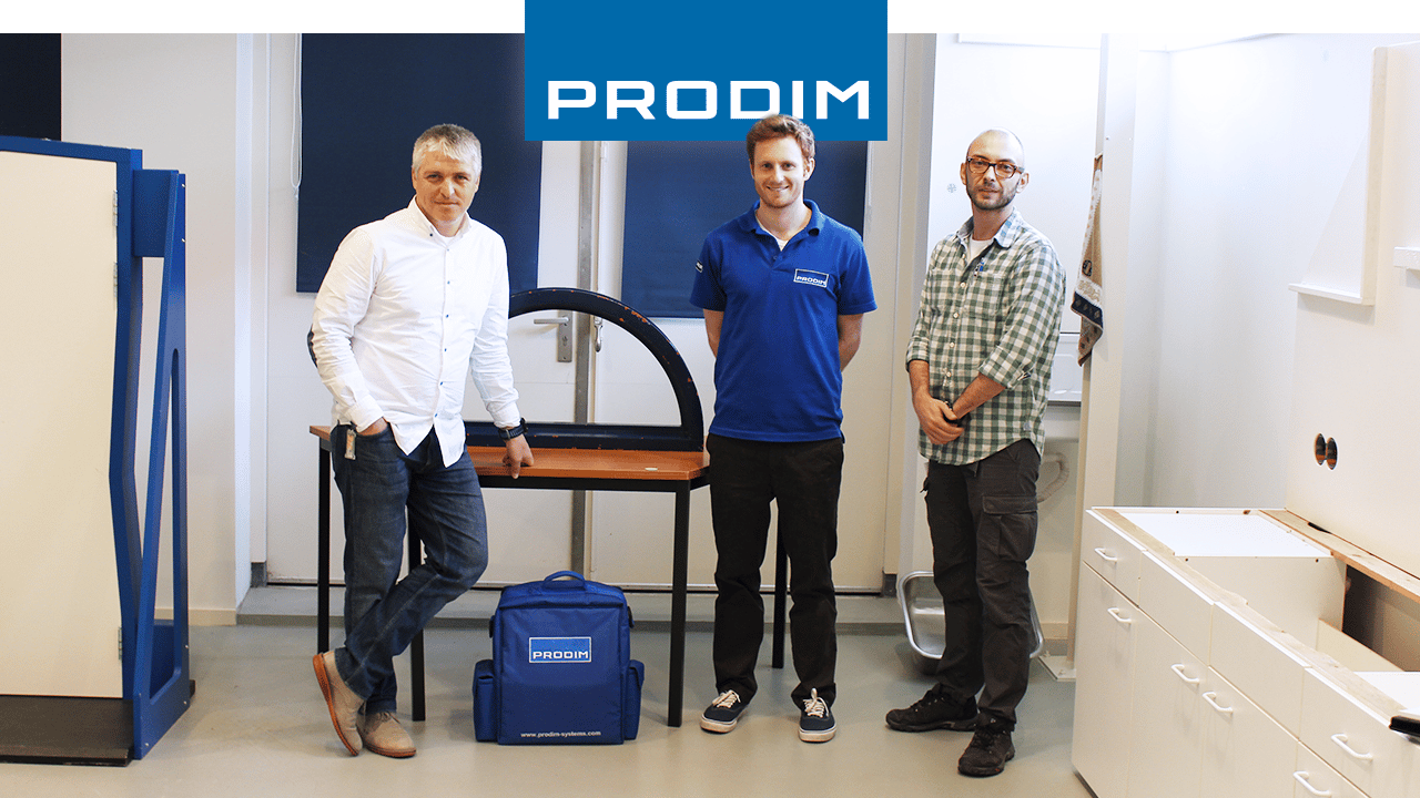 Utilizador Proliner Prodim Glass Expert