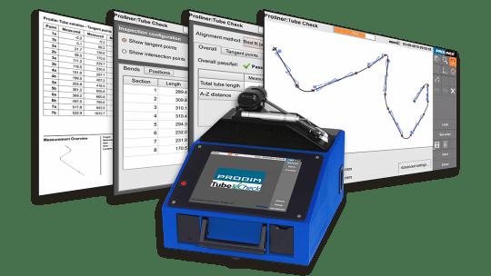 Prodim Proliner TubeCheck software