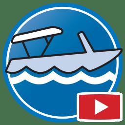 Botão para Assistir vídeos Proliner de medição digital de Capa de Barco