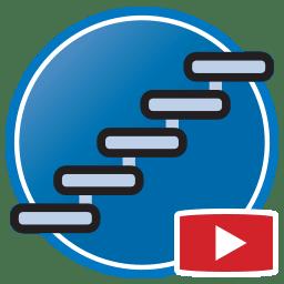 Botão para Assistir vídeos Proliner medição digital de escadarias