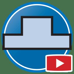 Botão para Assistir vídeos Proliner medição digital de paredes de frontais de cozinha