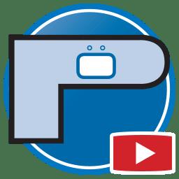 Botão para Assistir vídeos Proliner de medição digital de tampos de Pedra