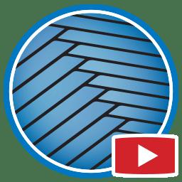 Botão para Assistir vídeos Proliner de medição digital de convés de teca