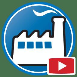 Botão para Assistir a vídeos do software de gestão de produção Prodim Factory
