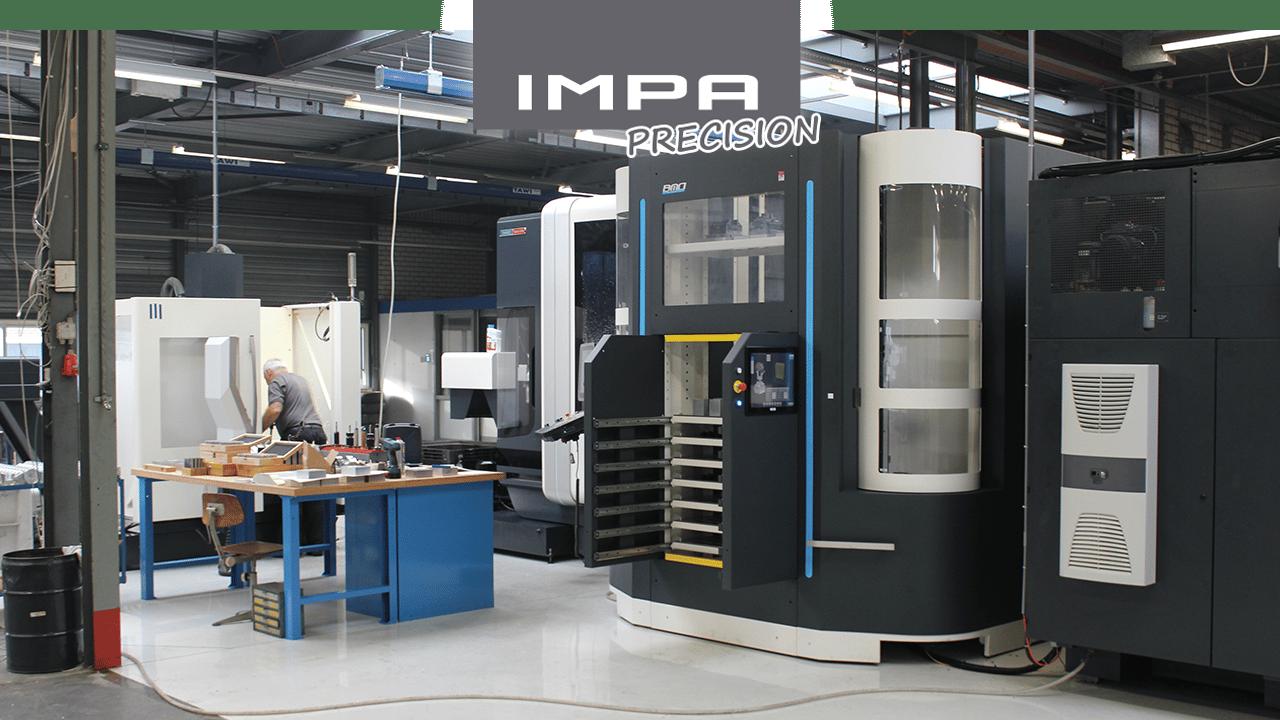 Precisão de IMPA - maquinaria de fresagem de 3 eixos e 5 eixos