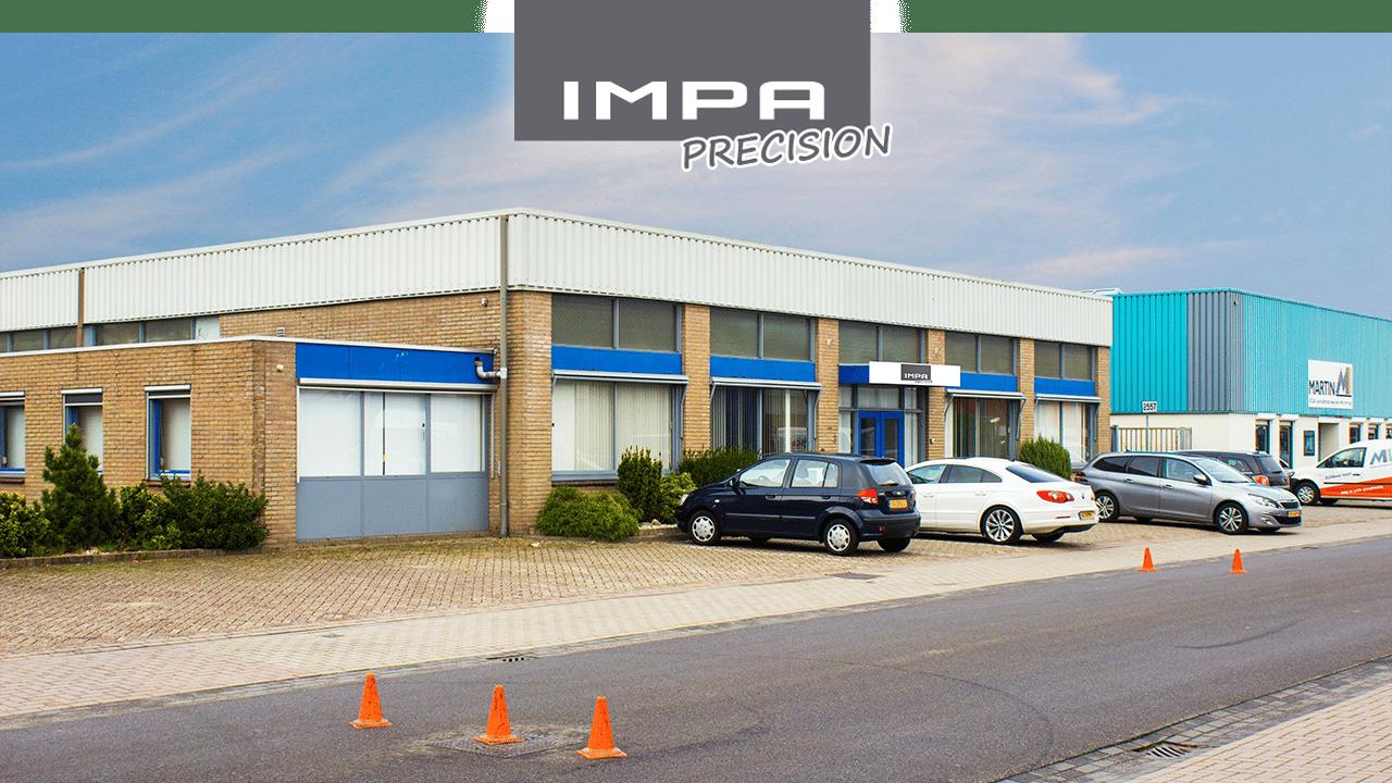 Escritório e fábrica de IMPA Precision - Helmond, Países Baixos