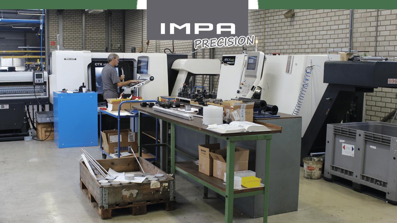 Precisão IMPA – Máquinas torneadoras automáticas