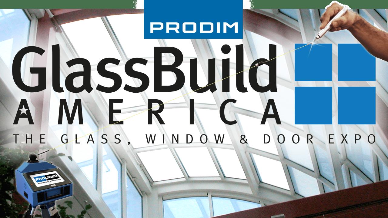 Visite Prodim em GlassBuild America 2018