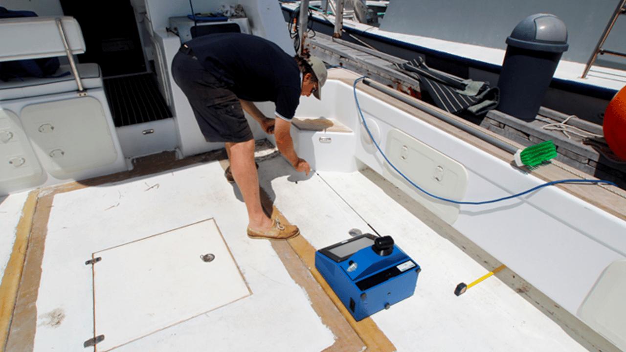 Soluções da indústria náutica e de iates Prodim - convés