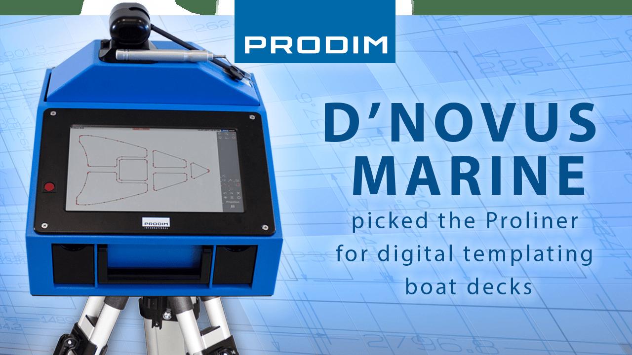 Utilizador Proliner Prodim D'novus Marine