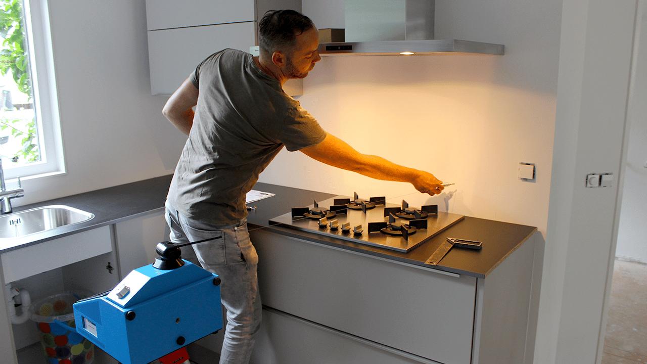 Soluções para a indústria de Pedra Prodim – medir bancadas e paredes de cozinha