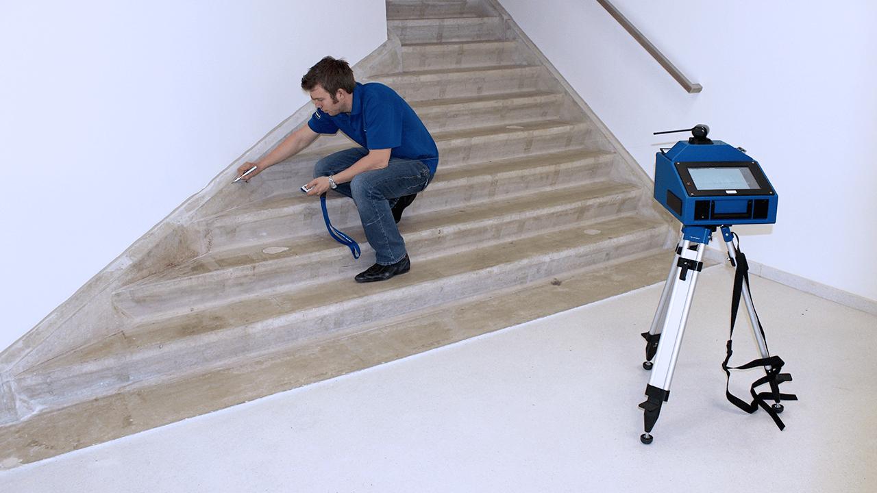 Soluções para a indústria de Pedra Prodim – medir escadarias
