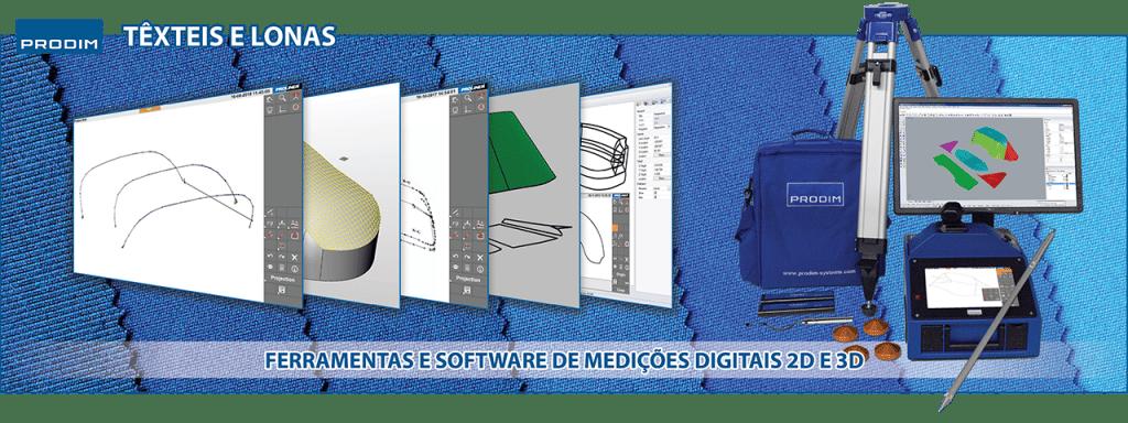 Prodim - Soluções de medição digital completas para a indústria de Têxteis e Lonas