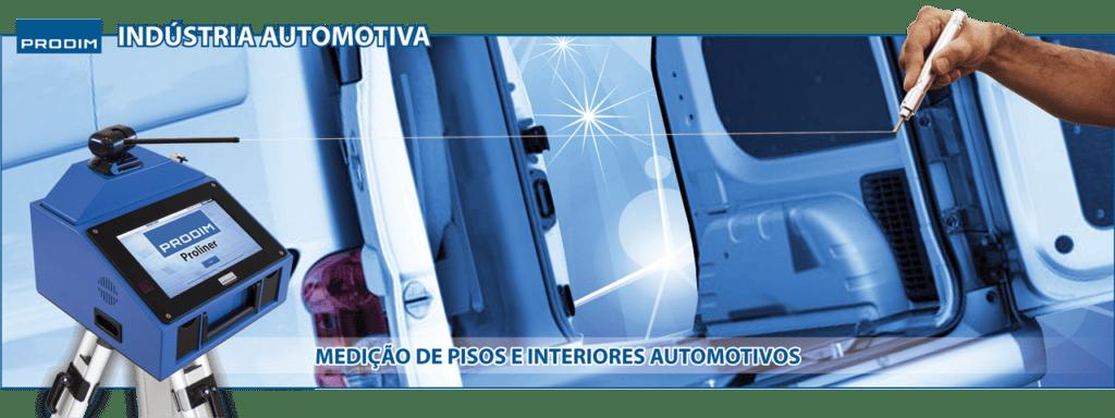 Prodim - Proliner - Medição de pisos e habitáculos automotivos
