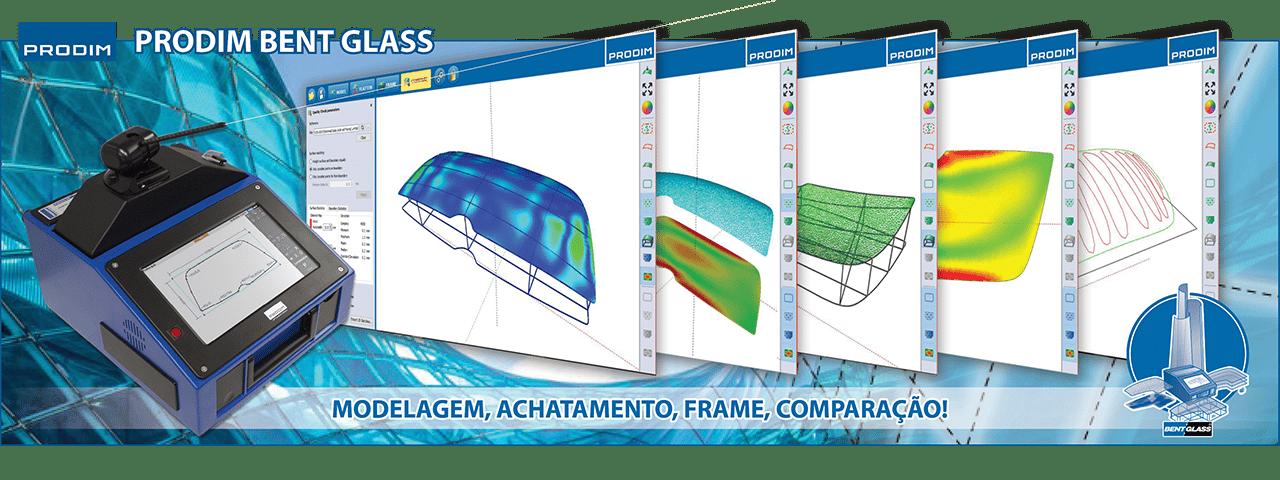 Slider - Prodim Bent Glass software. Clique para obter mais informações