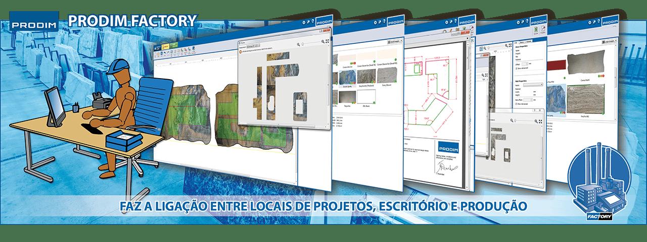 Slider - Prodim Factory software. Clique para obter mais informações