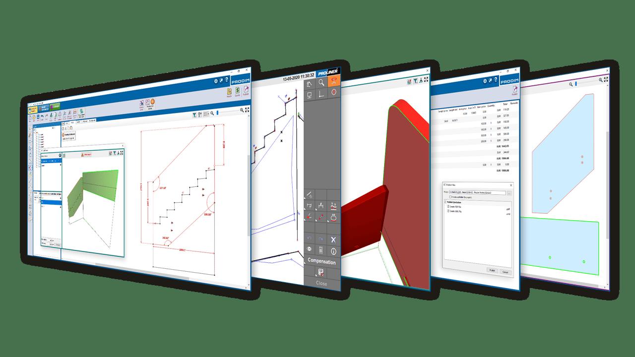 A solução de software Prodim Factory - Indústria de vidro