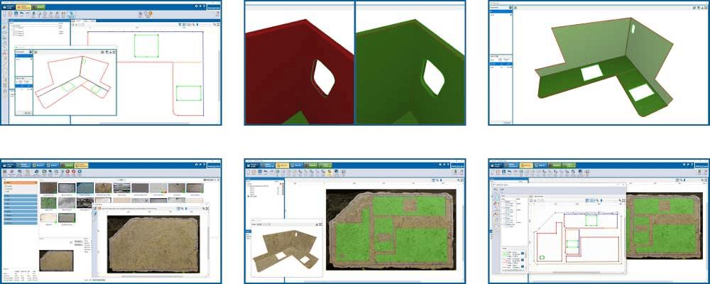 Screenshots - A solução de software Prodim Factory - Indústria da Pedra
