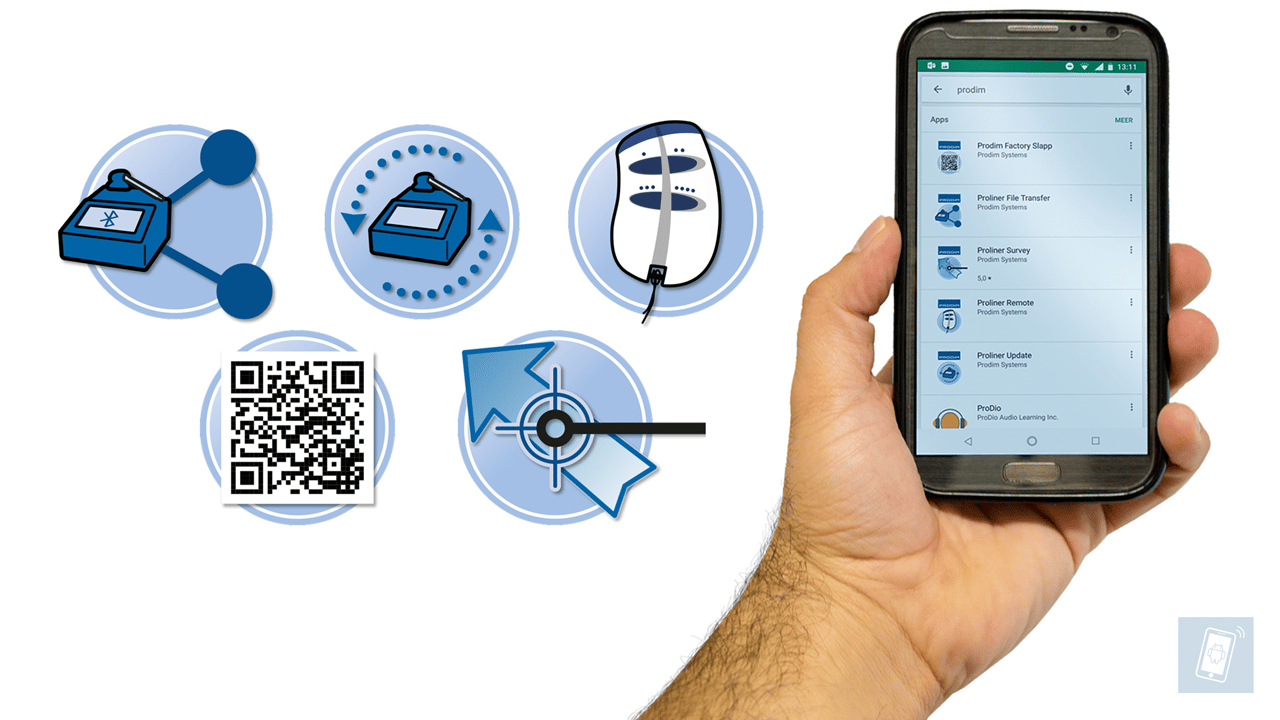 Aplicativos para smartphone Prodim