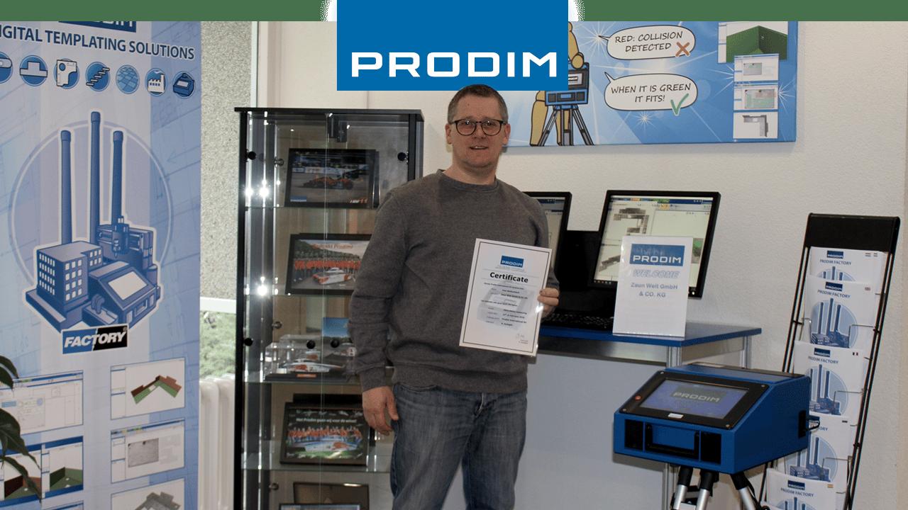 Prodim Proliner user Zaun Welt