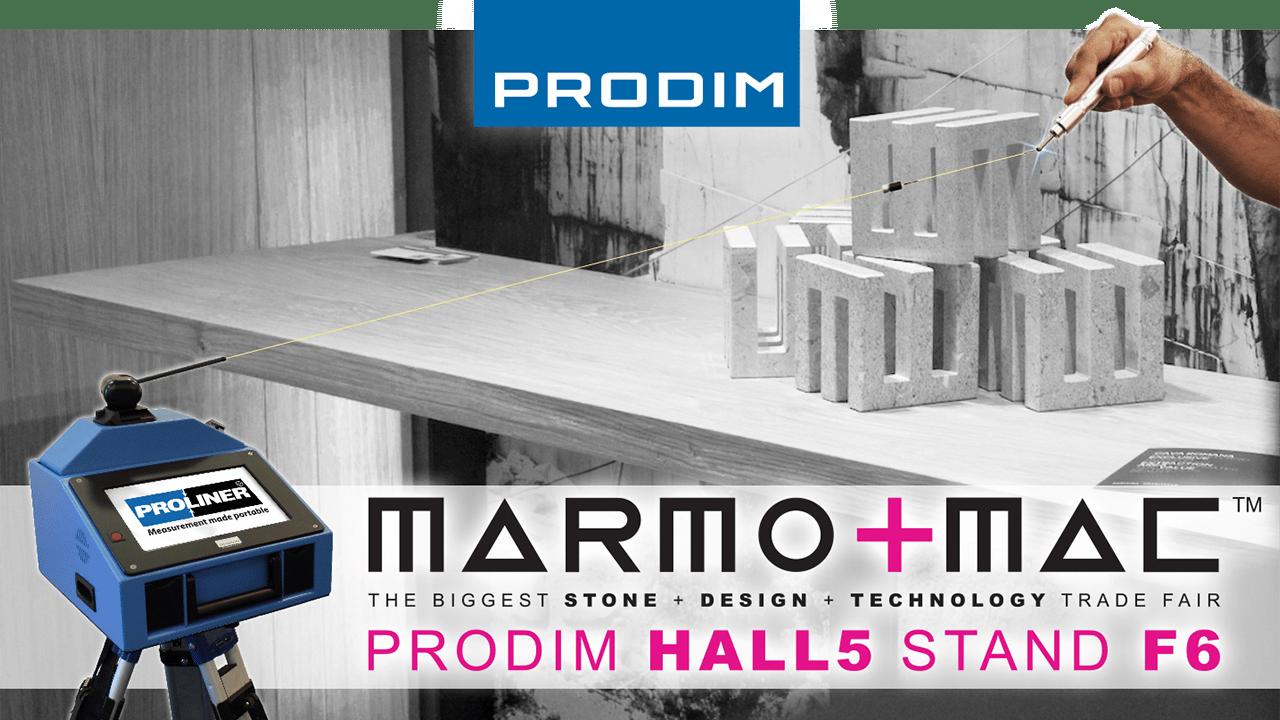 Visite Prodim em Marmomac 2018 em Verona (IT) - Hall 5 - Stand F6