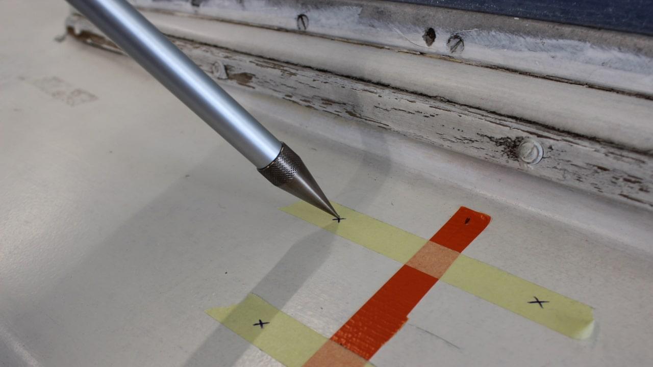 Proliner IPT - Point Pen - Permite medir evitando obstáculos e contornos não relevantes