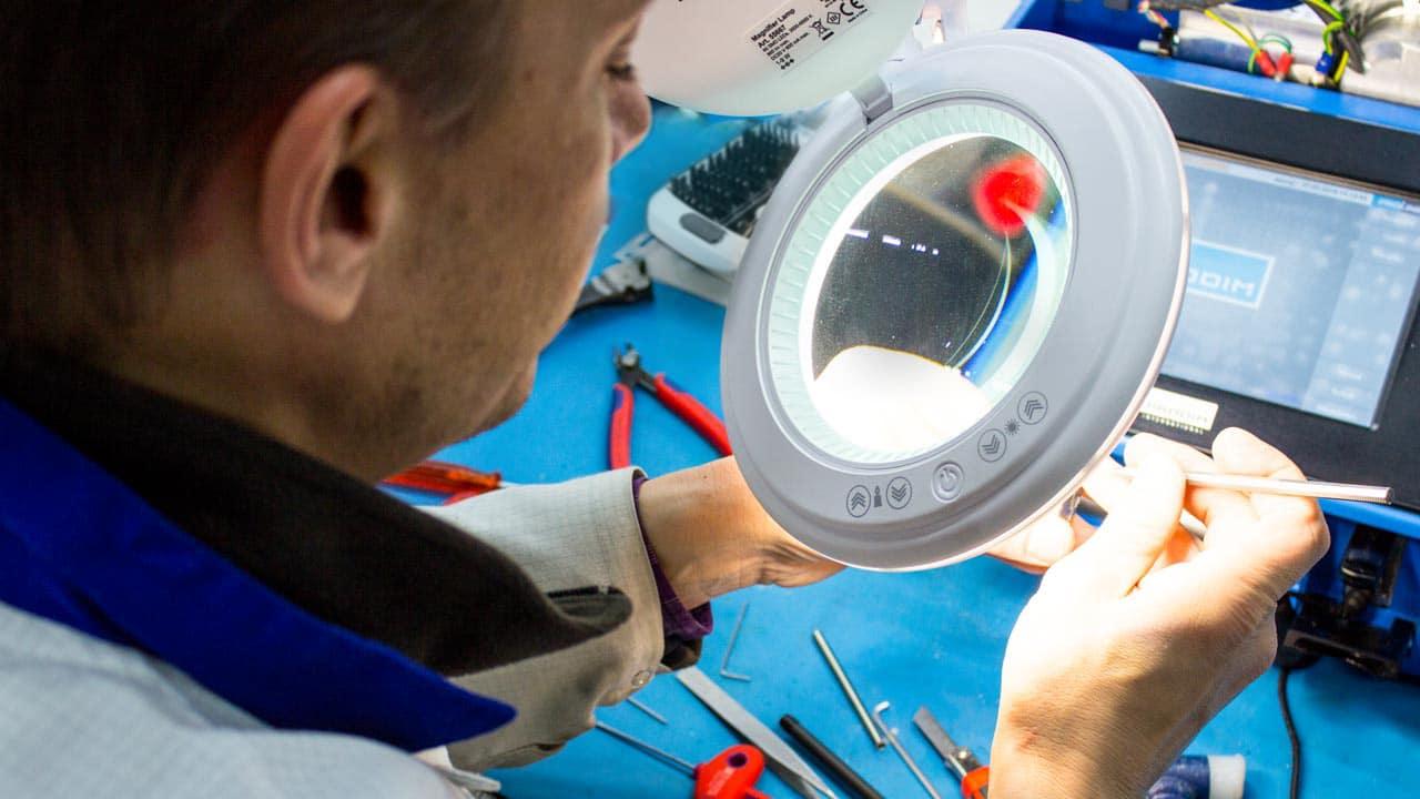 Proliner manutenção ou reparação