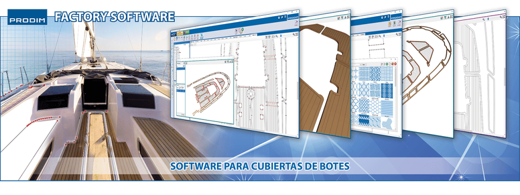 Slider - Prodim Factory - Software Para Cubiertas de Botes